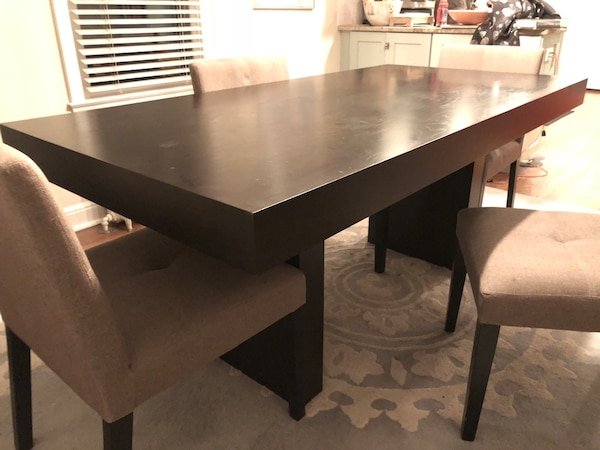 West Elm Terra Dining Table + Chairs/Bench