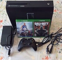 Xbox One console, controller and games Upper Marlboro, 20772