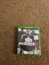 Madden NFL 18 Xbox One game case Dover, 19901