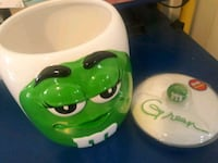 Green M&M candy or Cookie jar. Huntington Park, 90255