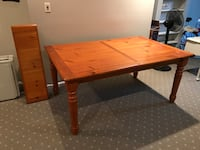 Farmhouse Dining Table with Leaf Millersville, 21108
