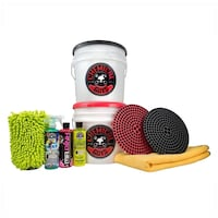 Chemical Guys Two Bucket Wash and Dry Kit 11pack -BNIB, $100 on Amazon Leesburg, 20176