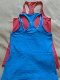 Lululemon active tank tops.2for $25 .Size 8-10.