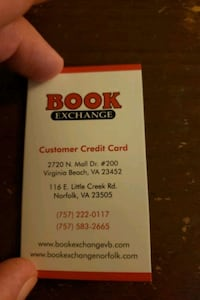 Book exchange Gift card