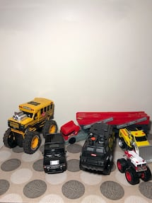Toy cars in very good shape.