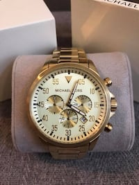 Michael Kors Men's Gold-Tone Gage Watch Markham, L3P
