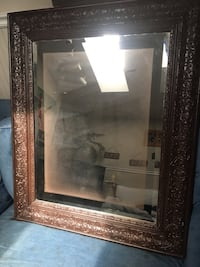 Large mirror brown ornate frame Vero Beach, 32966