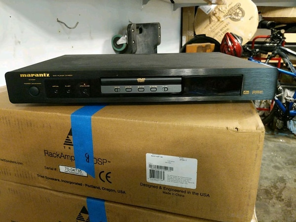 Marantz DVD player with remote e717fc12-156a-4524-8634-57794dd19e17