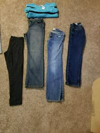 Girls jeans and tights Size 14/16 Vine Grove, 40175