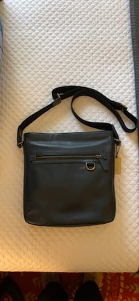 Coach Men's Collection Leather Field Bag