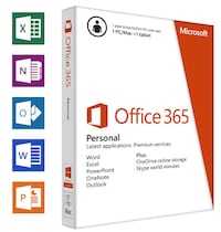 Office 365 Personal PC/MAC 5 dispositivos MADRID