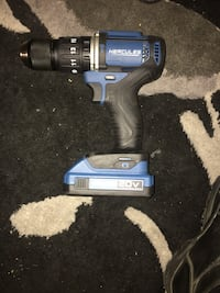 1/2 In. Compact Hammer Drill/Driver,With 20v lithium-ion battery Manassas, 20110