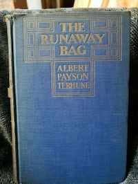 The Runaway Bag by Albert Payson Terhune book Wood Village, 97060