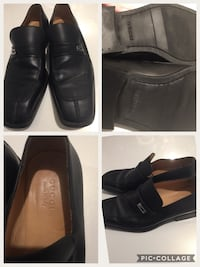 Gucci Pair of black leather dress shoes