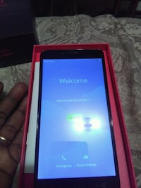 black Android smartphone with red box Arlington, 98223