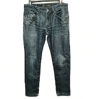 Men Guess Blue Jeans 31x32 Burnaby