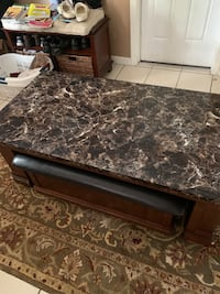 Coffee table and 3 matching end tables