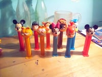 10 assorted color pez collector toys Alcomdale, T0G 0A0