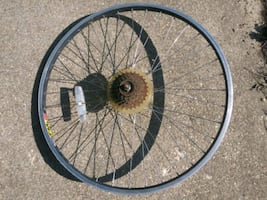 Weinmann tm19 26x1.5 rear bike rim