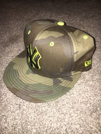 Camo New York Yankees fitted baseball cap Indianapolis, 46240