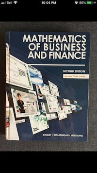 Math and the Business of Finance!  Mississauga, L5L 2E9