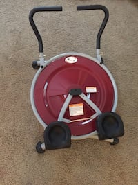 Ab circle pro, comes with dvds that are unopened.  Mesquite, 89027