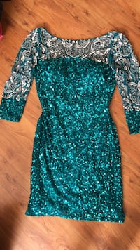 Turquoise Scala dress size 6 Mississauga, L5N 1Y2