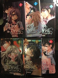 Collection manga : love is the devils [1-6] Le Vésinet, 78110