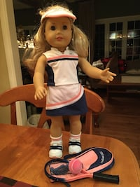 Beautiful American Girl doll