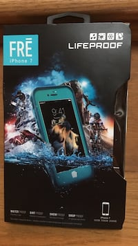 Lifeproof fre blue  iphone 7 case