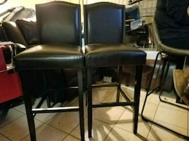 2 high chairs for bar