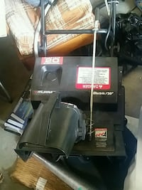 black and red Craftsman snow blower Ajax, L1S 5X1