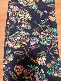 black, green, and pink floral textile 119 mi