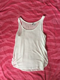 H&M white see through tank top  Winnipeg, R2W 3K9