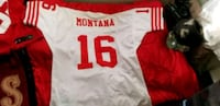 white and red # 8 jersey shirt 2365 mi