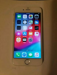 silver iPhone 6 with black case Silver Spring, 20902