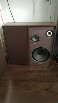 3-way vintage speakers - 1970's Vaughan, L4J 3A3