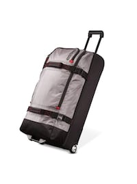 "American Tourister 30"" Aeropack Wheeled Duffel Bag - Charcoal/Red Leesburg, 20176"