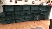 Reclining couch w/drink holders  Frederick, 21703