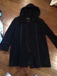 Size 3X long wool jacket  Parksville, V9P 1H7
