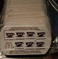 Lot of 50 free McDonald's coffee cards! Vaughan, L4L 9H3