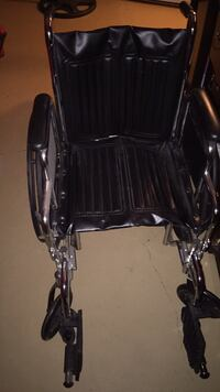 black and gray folding wheelchair 2278 mi