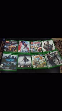 Xbox One game case lot Laval, H7P 3N6
