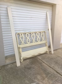 French provincial full bed vintage