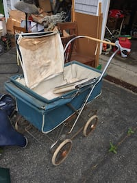 Vintage Baby Pram Stroller. Could look like this one I found on eBay with a little TLC:) South Grafton, 01560
