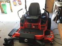 red and black ride on lawn mower Ashburn, 20148