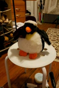 white and black penguin plush toy Brooklyn, 11209