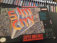 Sim City for SNES with original box & manual Vaughan, L4L 6Z5