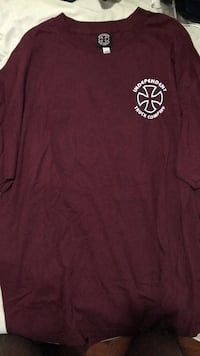 Men's burgundy t shirt Ajax, L1Z 1Z1