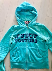 Juicy Couture Blue Velvet Tracksuit Jacket Whitchurch-Stouffville, L4A 2C1